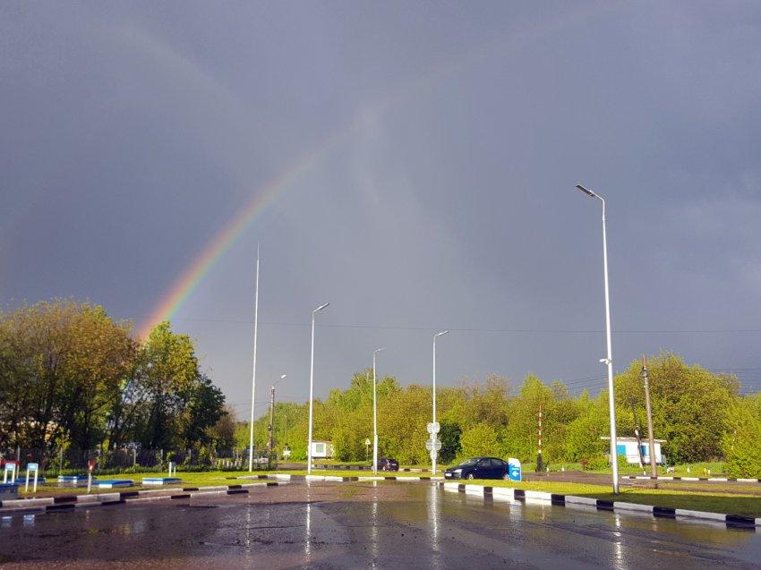 Ливни и град