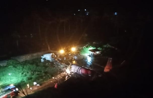 В Индии разбился самолёт