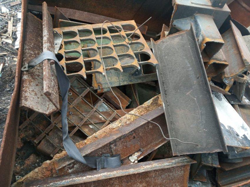 Магнитогорец украл более тонны металлолома