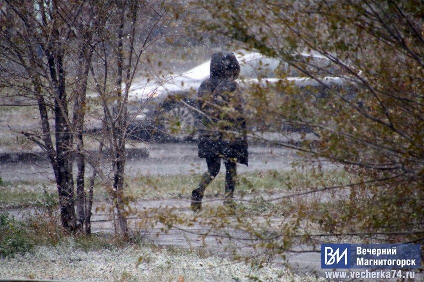 Сильный ветер, гололёд и мокрый снег