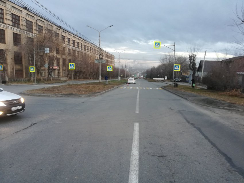 На Пушкина сбили пешехода