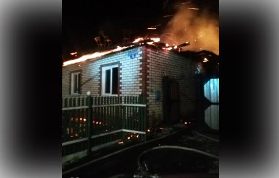 В пожаре погибли 4 человека