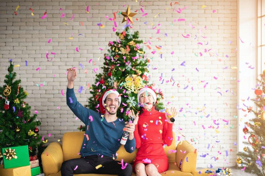 Новый год отмечаем в кругу семьи