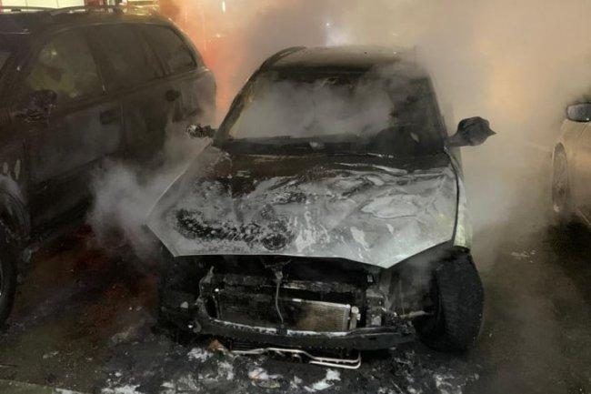 В Челябинске сгорел автомобиль журналистки