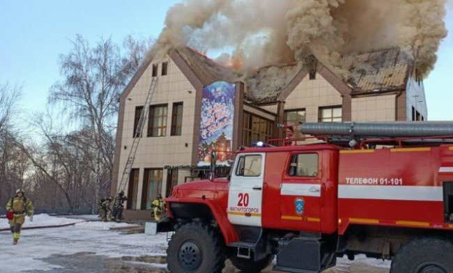Магнитогорские огнеборцы ликвидировали крупный пожар