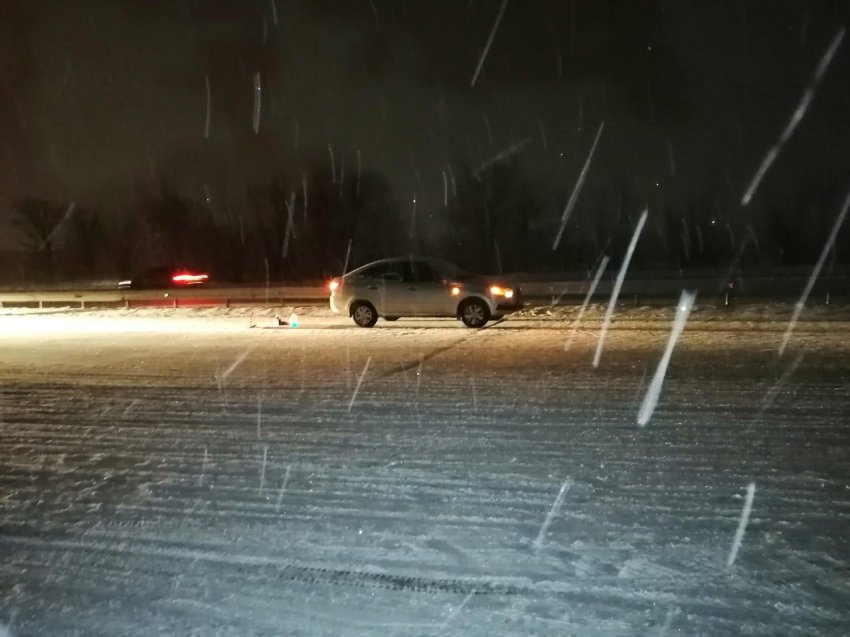 Снежно и аварийно