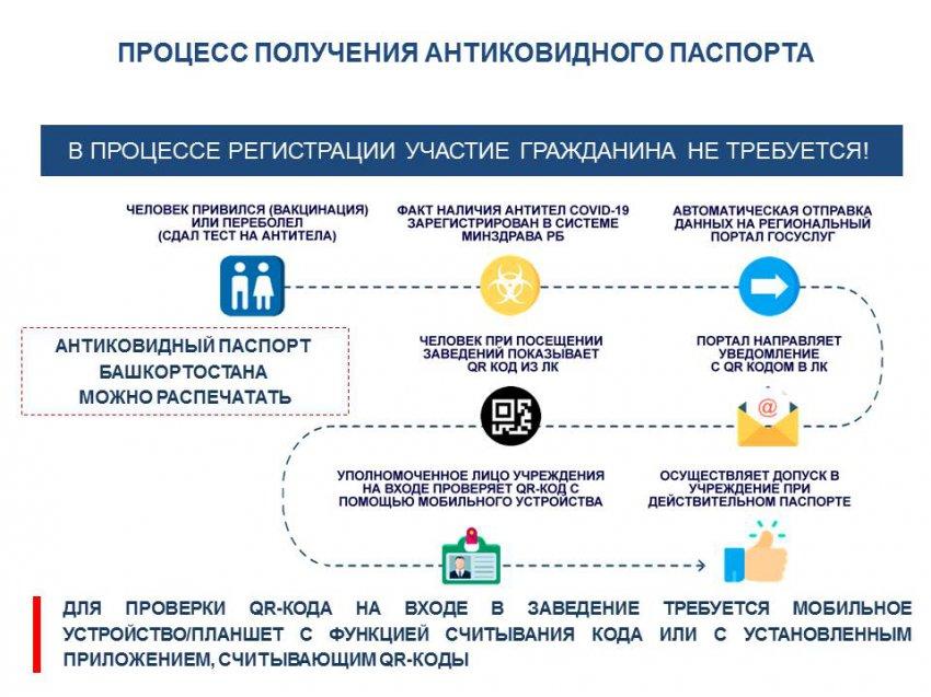 В Башкирии хотят ввести антиковидные паспорта