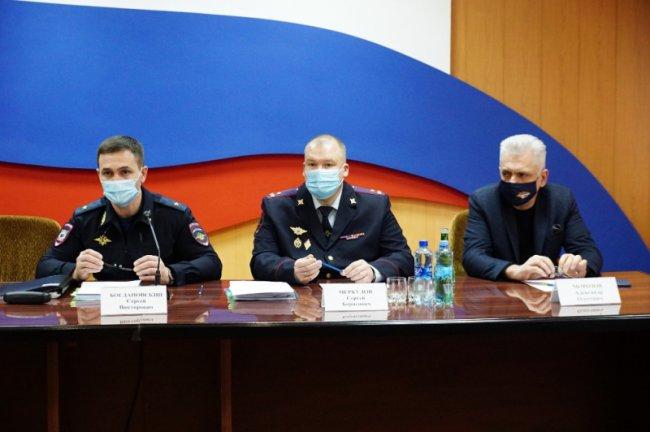 В Магнитогорске побывал генерал полиции
