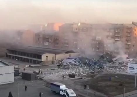 Во Владикавказе прогремел взрыв