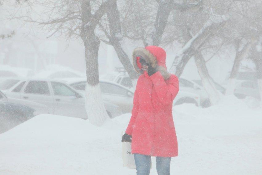 Снег и северный ветер