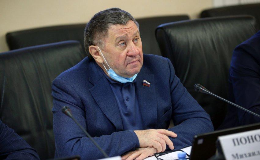 Умер член Совета Федерации Михаил Пономарев
