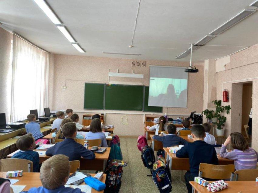 Сотрудники ГИБДД продолжают проводить онлайн-уроки для школьников