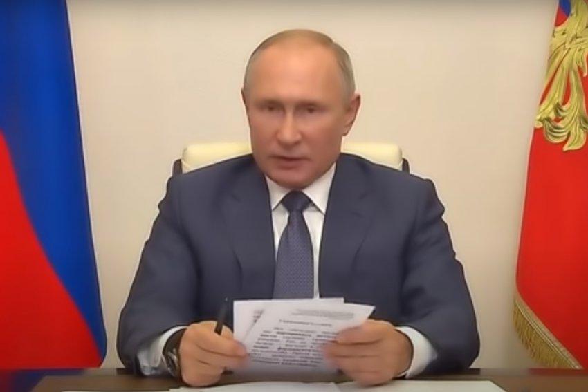 Владимир Путин завтра привьётся от коронавируса
