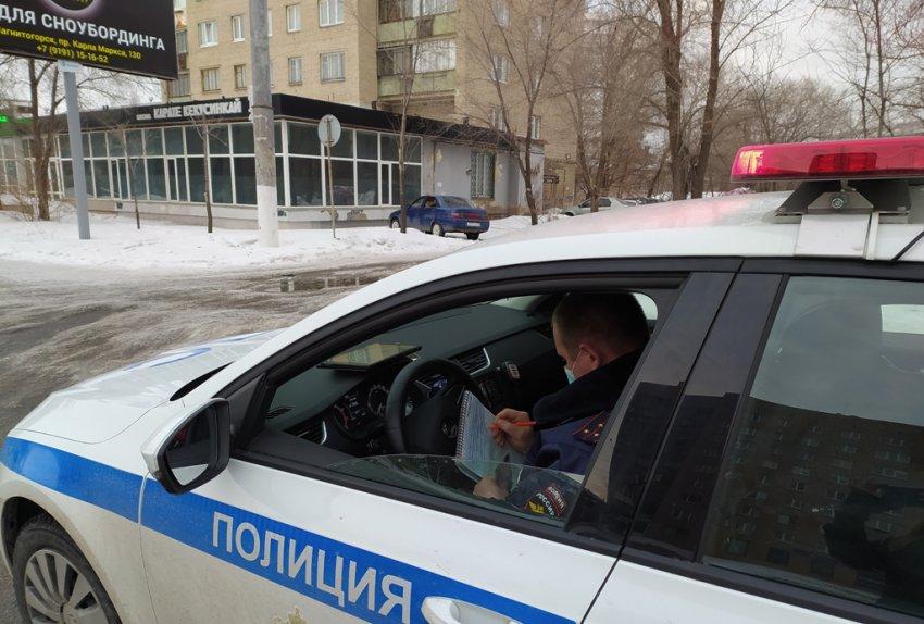 В Магнитогорске выявили пьяных водителей