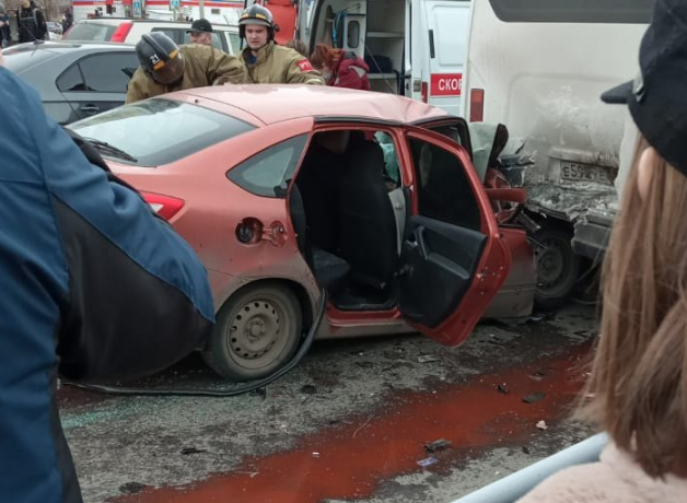 В Магнитогорске произошло страшное ДТП