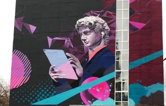 Мэр Флоренции восхитился граффити на здании «Ростелекома»