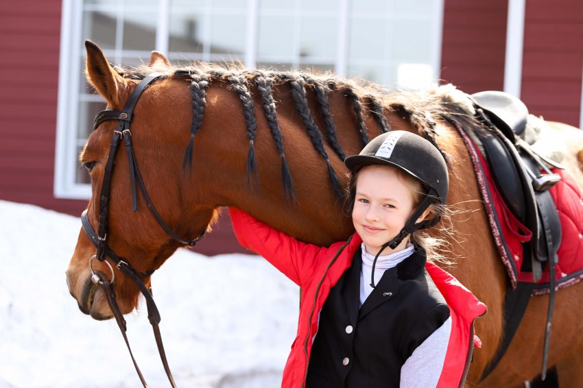 В Магнитогорске прошёл турнир по конному спорту