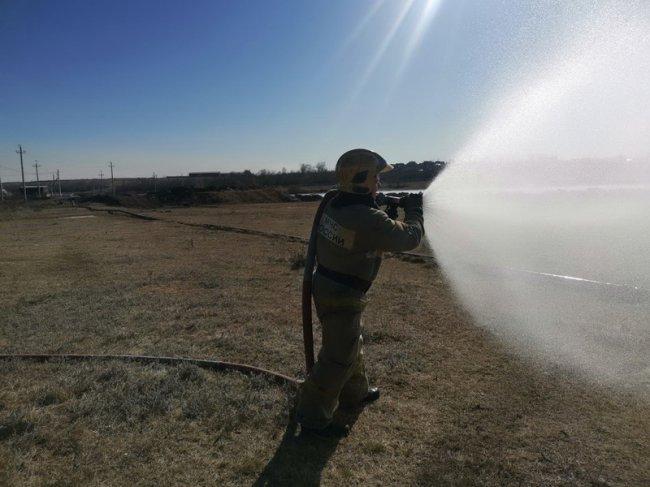 К паводку и ландшафтным пожарам готовы