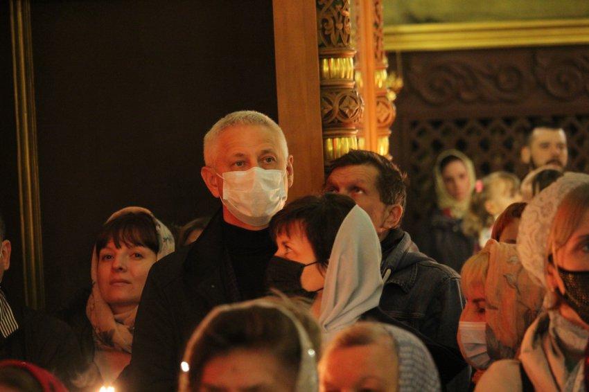 Сергей Бердников принял участие в богослужениях