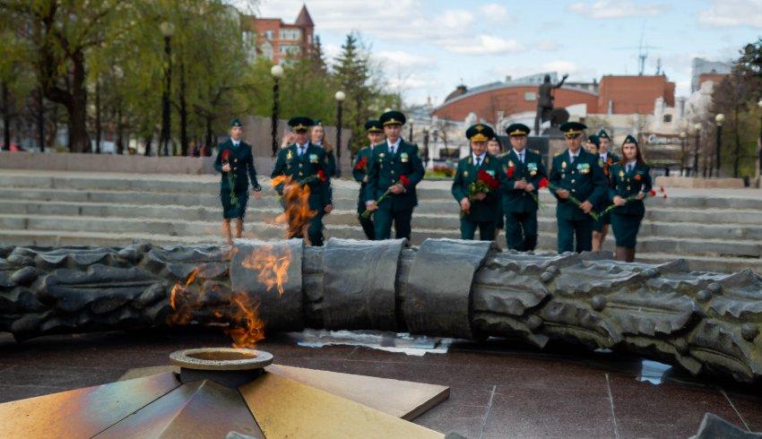 Почтили память советских воинов