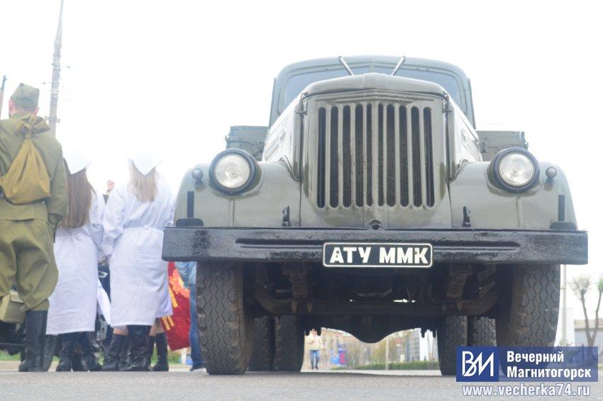 В Магнитогорске был замечен бронеавтомобиль