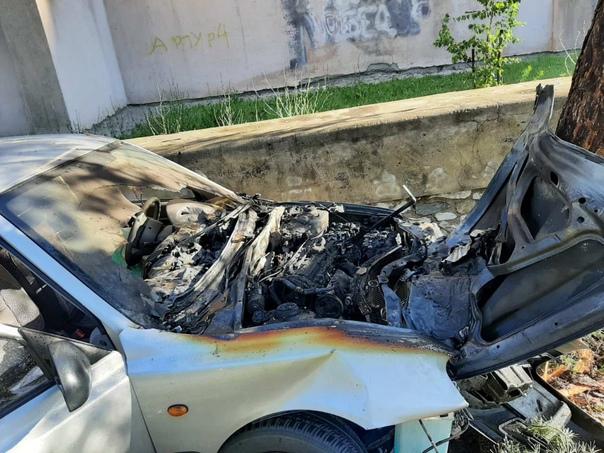 Магнитогорец сгорел заживо в своем автомобиле