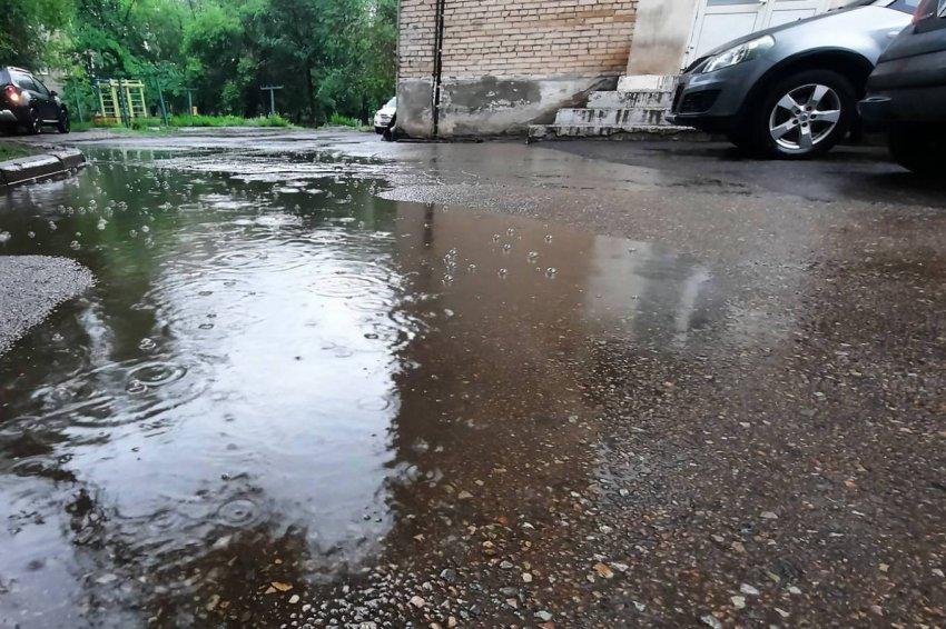 Весь день дожди