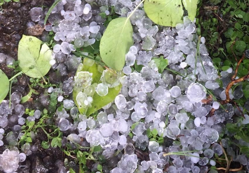 На Магнитогорск обрушилась непогода