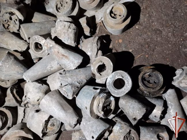 В Магнитогорске нашли боеприпасы