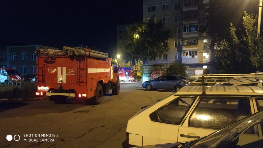 В Магнитогорске полностью сгорела квартира