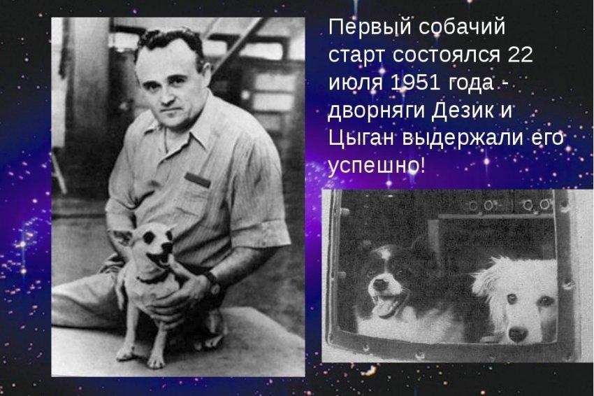 Первая история собачьей космонавтики