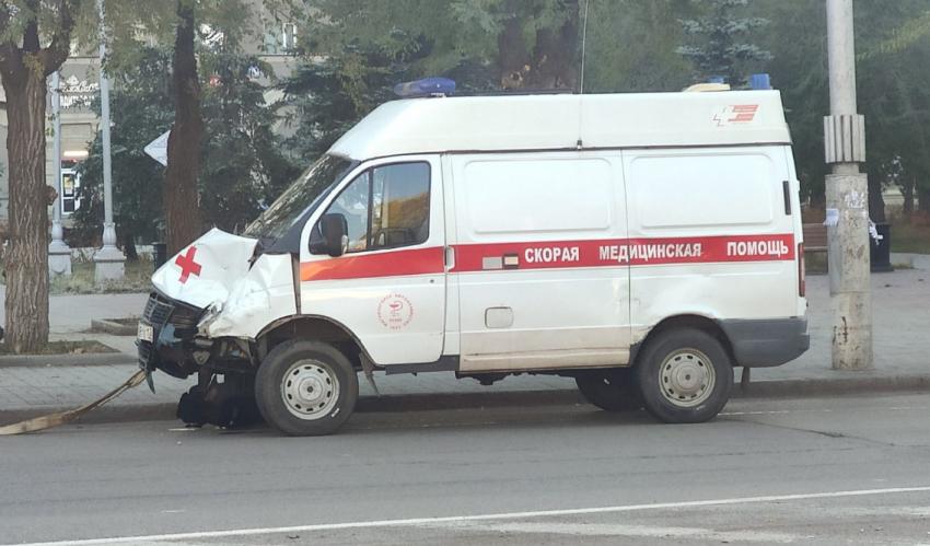 В Магнитогорске скорая помощь попала в ДТП