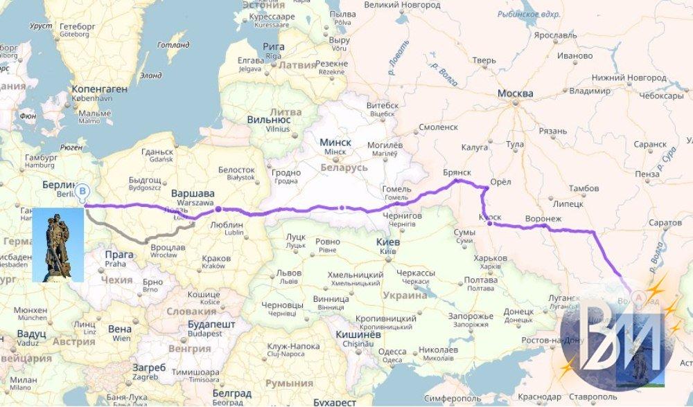 Магнитогорец бежит от Волгограда до Берлина. Через Брест