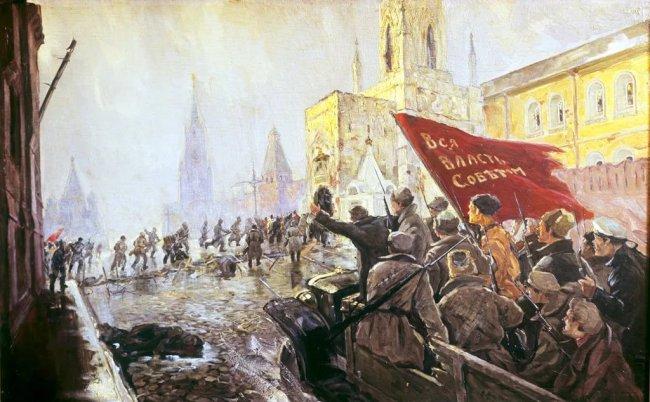 Три минуты до революции
